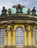 Sem o palácio de Souci em Potsdam Fotos de Stock Royalty Free