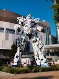 Sem redução de RX-0 Unicorn Gundam no mergulhador City Tokyo Plaza no Od imagem de stock royalty free