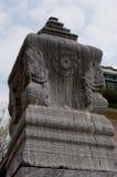 Sema em Tailândia, Wat Niwet Thammaprewat Imagem de Stock