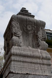 Sema i Thailand, Wat Niwet Thammaprewat fotografering för bildbyråer