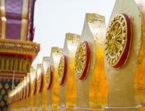 Sema ist ein Symbol im Tempel Stockbilder