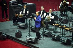 Sema-Show Ahmet Ozhan Lizenzfreie Stockfotos