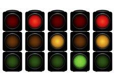 Semafori Immagini Stock Libere da Diritti