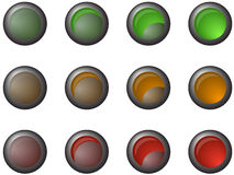 Semafori Fotografie Stock
