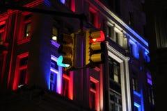Semafori al  strade trasversali fotografia stock libera da diritti