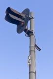 Semafori ferroviari Immagini Stock