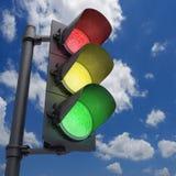 Semaforo Fotografia Stock Libera da Diritti