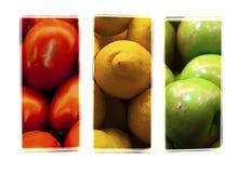 Semaforo della frutta fotografia stock libera da diritti
