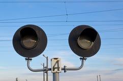 Semaforo ferroviario Immagine Stock Libera da Diritti