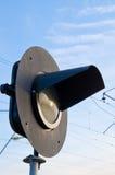 Semaforo ferroviario Immagini Stock Libere da Diritti