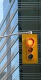 Semaforo urbano fotografia stock libera da diritti