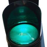 Semaforo verde Immagini Stock Libere da Diritti