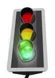Semaforo verde 2 Immagine Stock Libera da Diritti