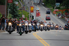 Semaine 2009 de moto de Laconia Image libre de droits