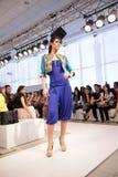 Semaine 2012 de mode de benz de Mercedes Images libres de droits