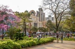 SEMAINE de GASTRONOMIE pendant Liberty Square à Belo Horizonte, Brésil image stock