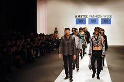 Semaine de mode d'Amstel, Belgrade Photographie stock