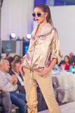 Semaine 2015 de mode de Bucarest Image libre de droits