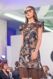 Semaine 2015 de mode de Bucarest Images libres de droits