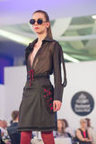 Semaine 2015 de mode de Bucarest Photographie stock