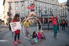 Semaine de mode de grand-rue Image stock