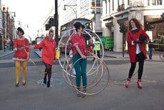 Semaine de mode de grand-rue Images stock