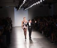 Semaine de mode de New York d'exposition de piste de Zang Toi SS19 photo stock