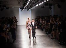 Semaine de mode de New York d'exposition de piste de Zang Toi SS19 photo libre de droits