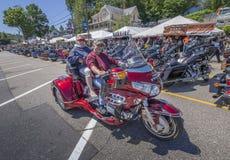 Semaine de moto de Laconia Images libres de droits