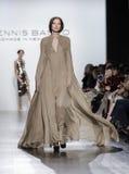 Semaine FW 2017 de mode de New York - Dennis Basso Collection Image libre de droits