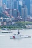 Semaine NYC 2016 de flotte - USCGC en avant Photos stock