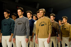 Semaine NYC de mode de l'automne 2011 de piste de Perry Ellis Image libre de droits