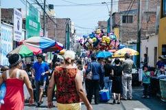 Semaine sainte à Lima - au Pérou 2018 images libres de droits
