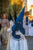 Semaine sainte en Espagne Photo libre de droits