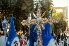 Semaine sainte en Espagne Images stock