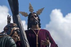 Semaine sainte en Séville, fraternité de paix Photographie stock