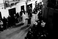 Semaine sainte en Sardaigne Image libre de droits