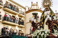 Semaine sainte, Orgiva, Espagne Image libre de droits
