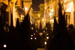 Semaine sainte Pâques Marchena SÉVILLE Le Christ de St Peter photo libre de droits
