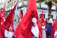 Semaine sainte pendant la paume dimanche Photographie stock libre de droits