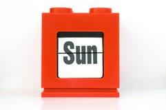 Semaine, Sun. Image stock