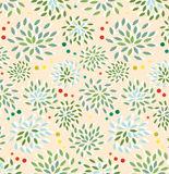 Semaless floral pattern Royalty Free Stock Images