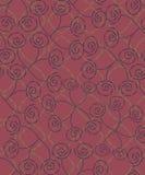 Semaless Muster der kleinen Rosen lizenzfreie abbildung