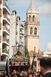 Semana圣诞老人在塞维利亚 图库摄影