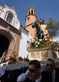 Semana圣诞老人在安大路西亚 库存图片