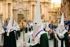 Semana圣诞老人在穆尔西亚 库存图片