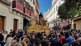 Semana圣诞老人西班牙2018年 免版税库存照片