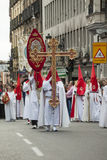 Semana圣诞老人,马德里 库存图片
