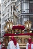 Semana圣诞老人,马德里 库存照片