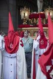 Semana圣诞老人,马德里 免版税库存照片